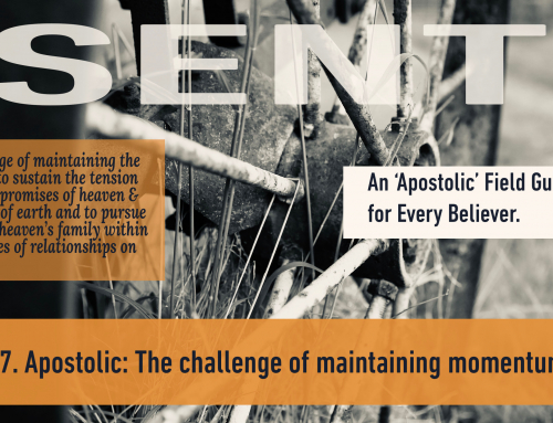 7. Apostolic: The challenge of maintaining momentum.